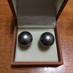 14mm Black South Sea Pearls